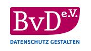 Logo unseres Partners BvD e.V. (Berufsverband der Datenschutzbeauftragten Deutschlands e.V)