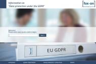 Online Information GDPR
