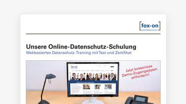 fox-on Online-Schulungen